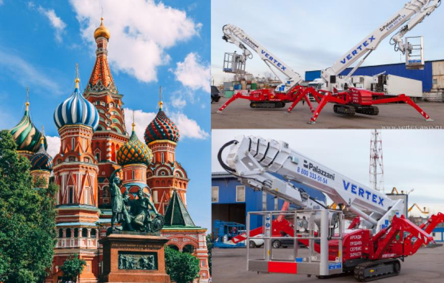 DEVELOPMENT OF THE SALES DIRECTION OF SPIDER LIFTS IN RUSSIA